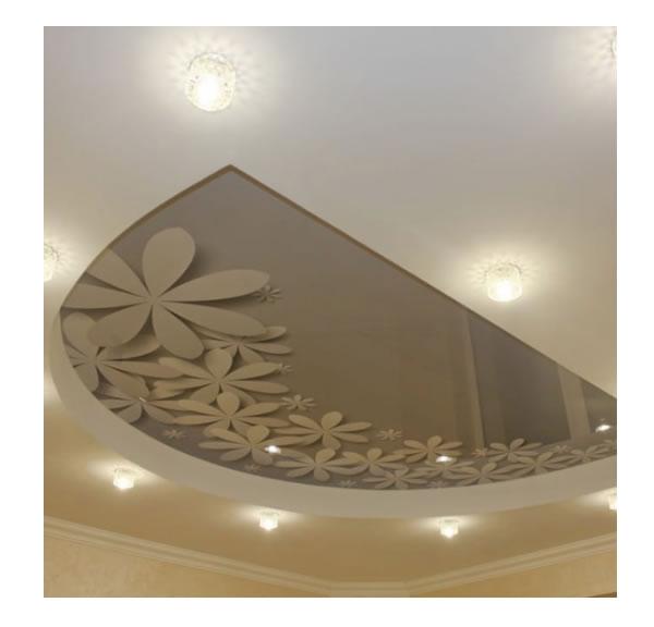 Lichtdecken Wohnzimmer