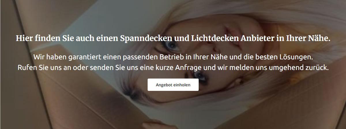 Spanndecken Lichtdecken Anbieter aus 49497 Mettingen