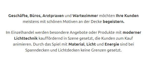 Spanndecken Lichtdecken für  Moosburg (Isar) - Sempt, Stießberg, Thonstetten, Aich, Oberpolln, Oberreit und Pfrombach, Pfrombeck, Pillhofen