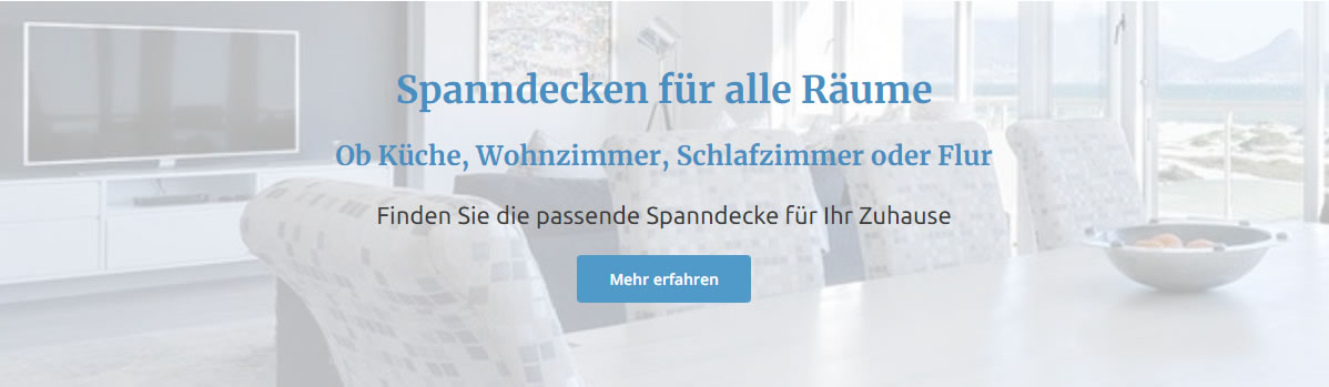 Spanndecken Wohnzimmer  für 63165 Mühlheim (Main)