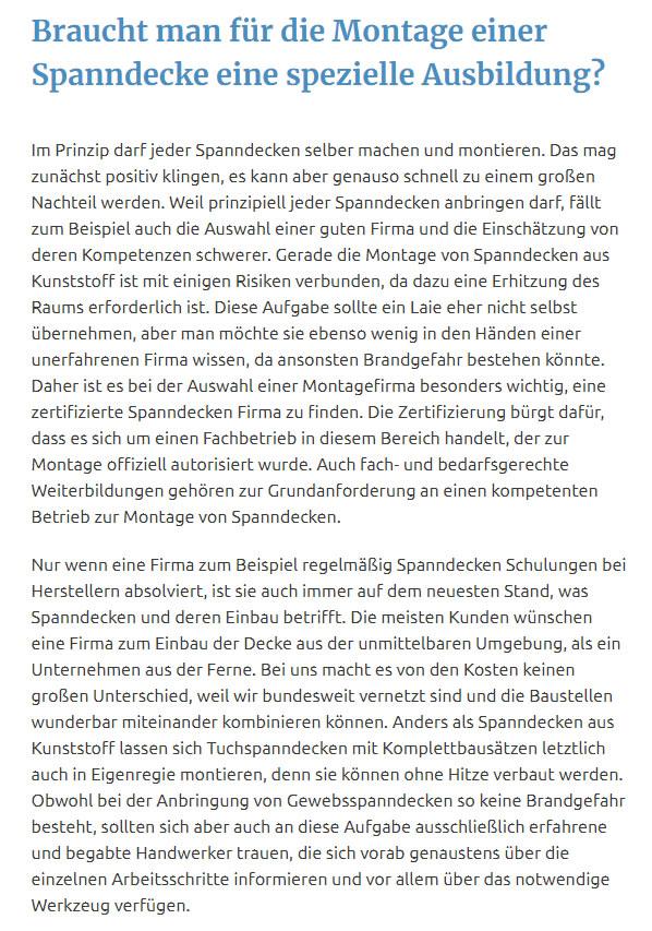 Spanndecken montieren für  Mühlheim (Main) aus 63165 Mühlheim (Main)