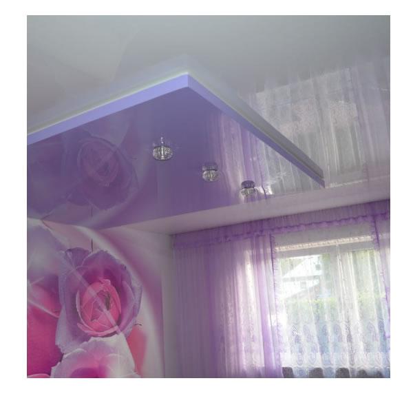 Wohnzimmer Spanndecken